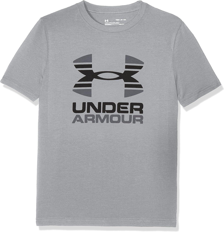 Maglietta A Maniche Corte Bambino Under Armour Two Tone Logo SS T