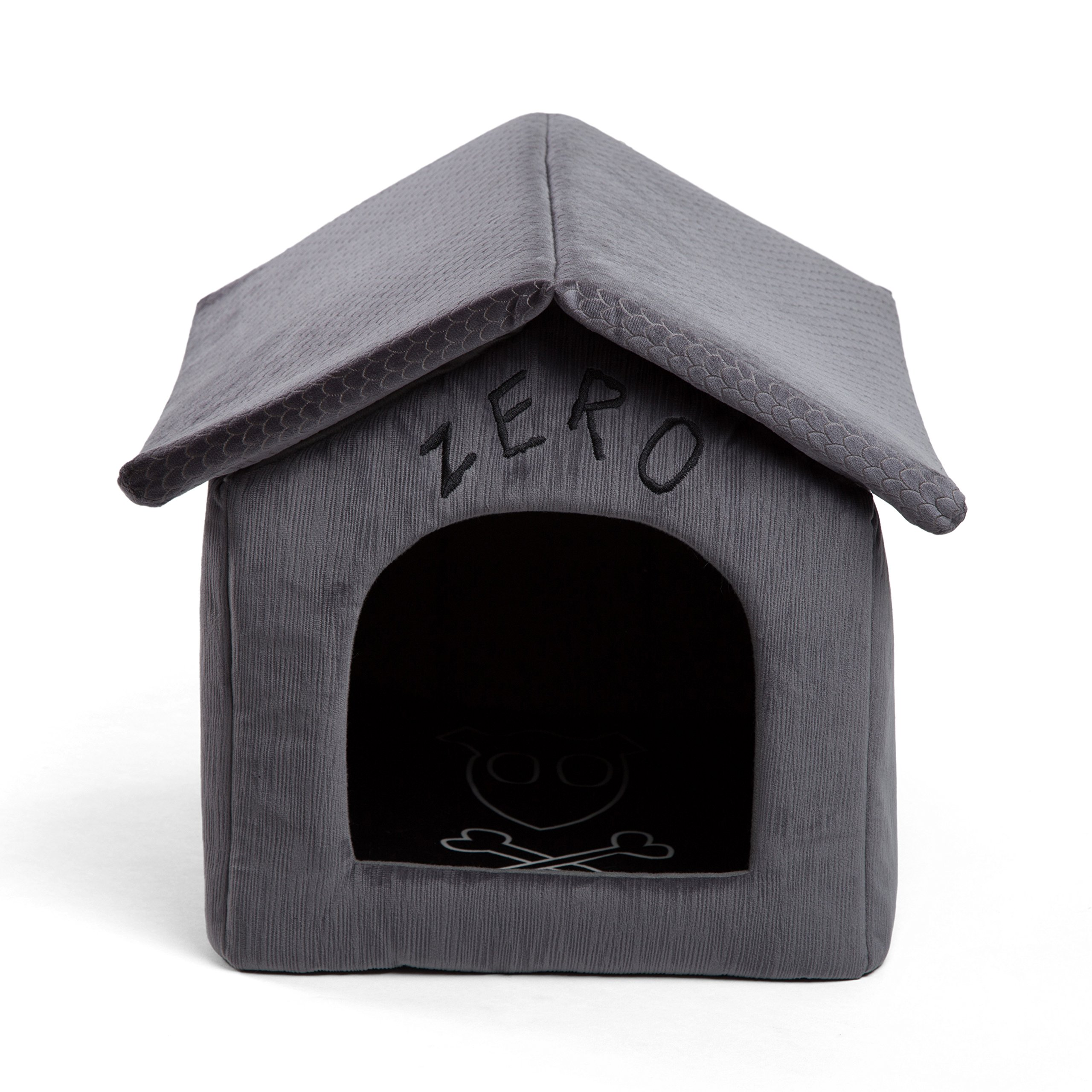 Disney Nightmare Before Christmas Zero Portable Pet House Dog Bed / Cat Bed with Detachable Top, Embroidery, Machine…