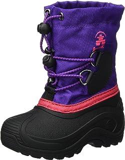 Kamik Mädchen Snowfox Schneestiefel, Violett (Purple/Teal-Violet/Sarcelle), 27 EU
