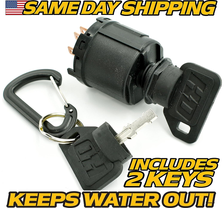AYP/Craftsman Ignition Switch 140399, 144921, 154555, 163088 - Free Key & Keychain - HD Switch