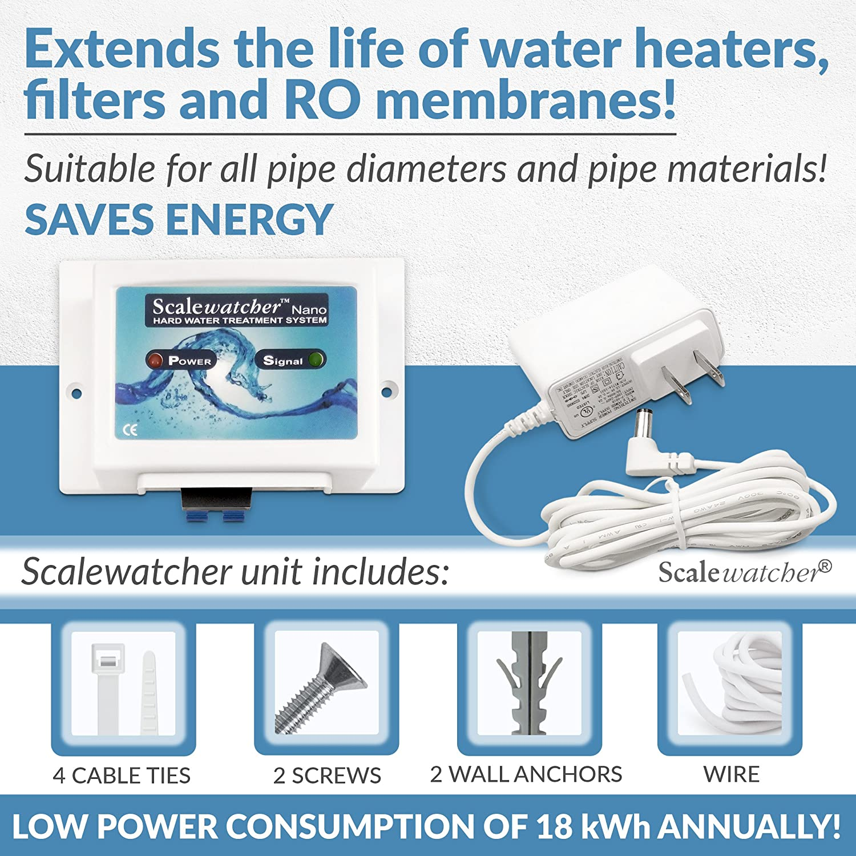 Scalewatcher Nano Electronic Water Descaler