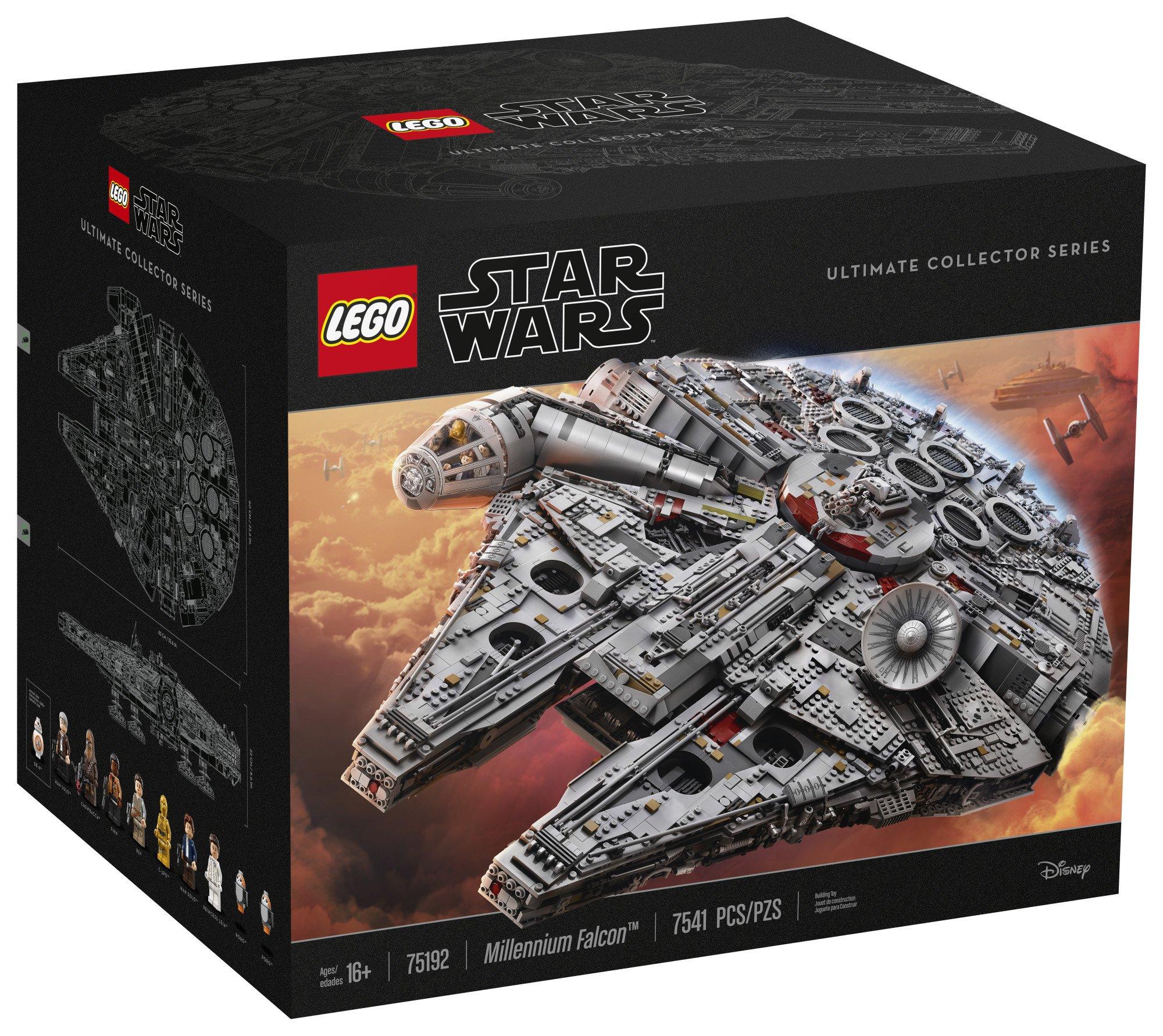 LEGO Star Wars Millennium Falcon 75192 Building Kit (7541 Piece) by LEGO (Image #4)