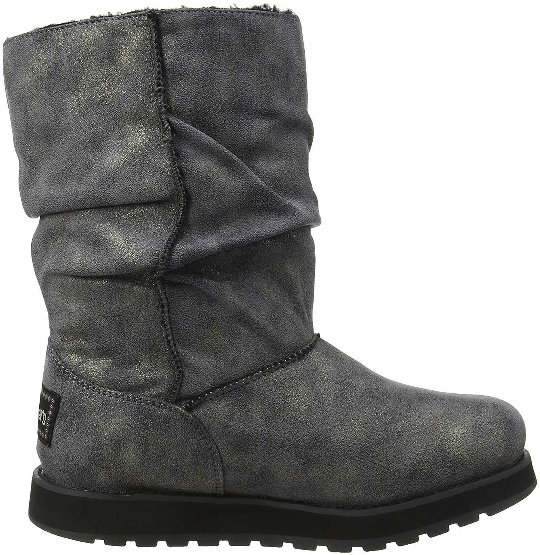 Skechers Damen Keepsakes Rhodium Schlupfstiefel, Schwarz (Blk), 38 EU   Amazon.de  Schuhe   Handtaschen 6fdadb078b