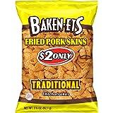 Baken-ets Traditional Fried Pork Skins (Chicharrones), 3.25 Ounce