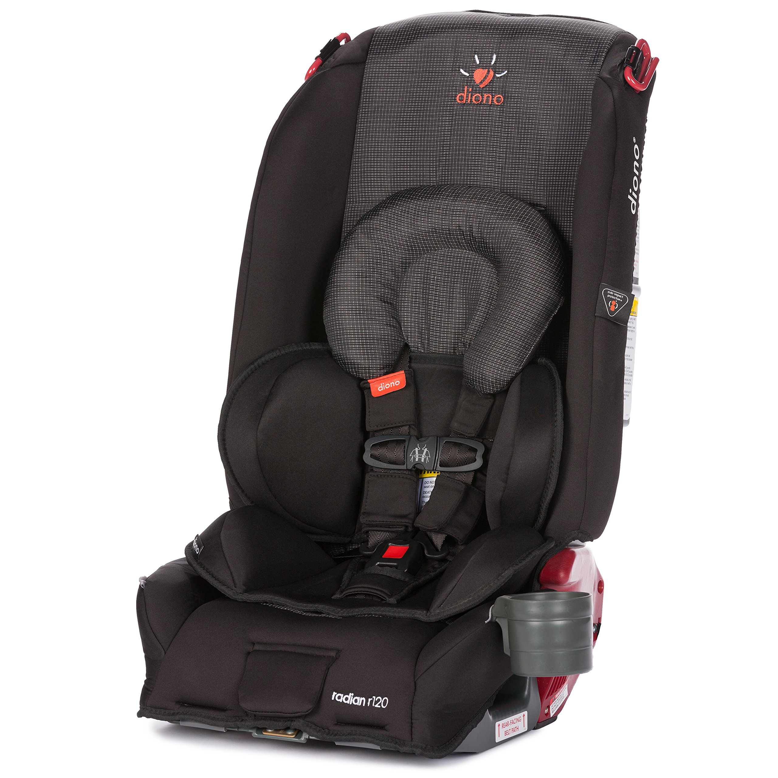 diono radian r120 all in one convertible car seat twilight amazon. Black Bedroom Furniture Sets. Home Design Ideas