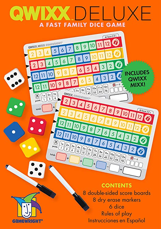 Image result for qwixx board game