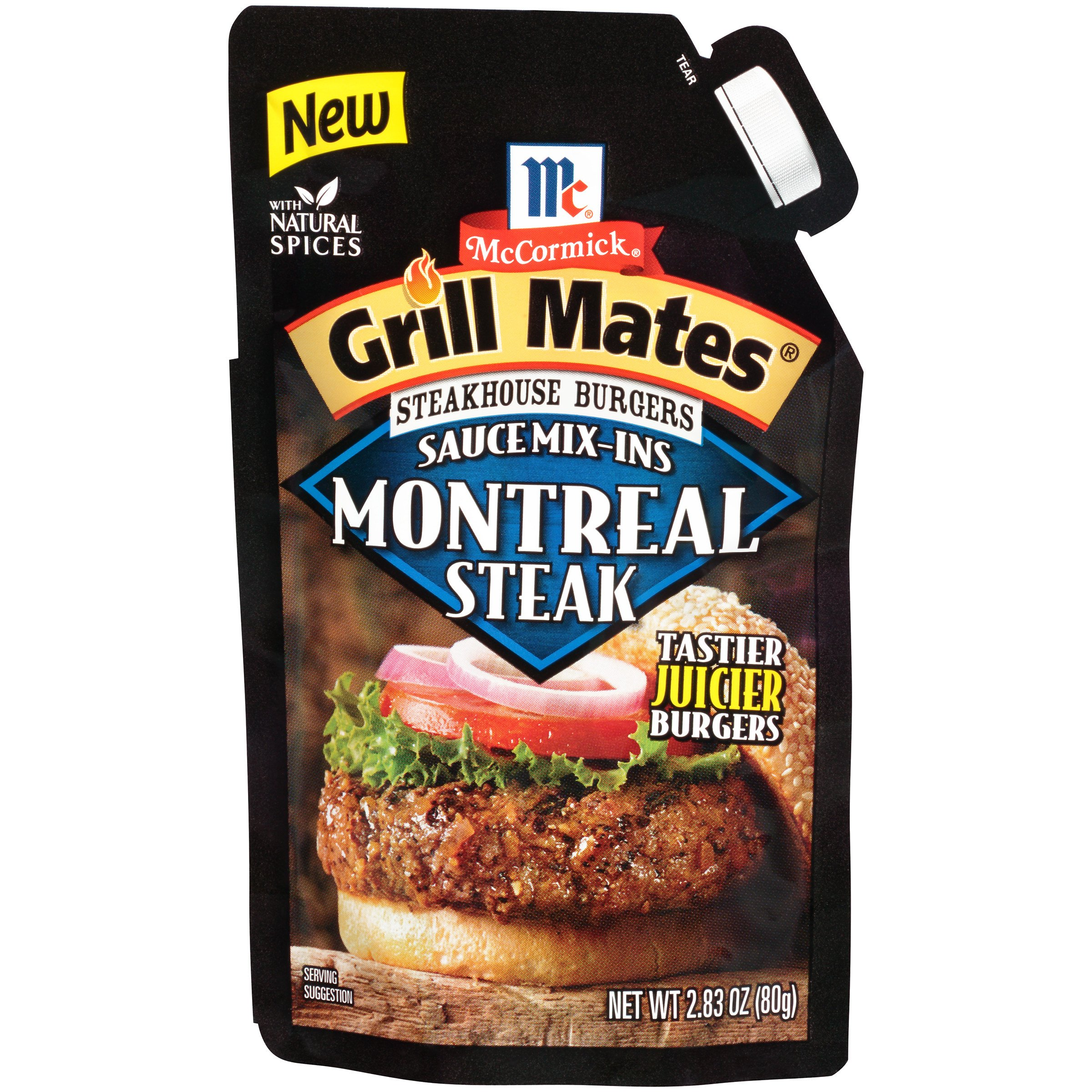 McCormick Grill Mates Montreal Steak, 2.83 Ounce