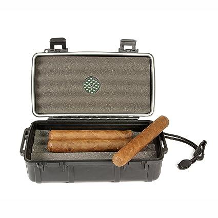 Cigar Caddy 3240 10 Cigar Waterproof Travel Humidor