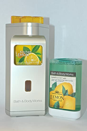 bath u0026 body works touch free smartsoap automatic hand soap dispenser silver dispenser soap - Hand Soap Dispenser