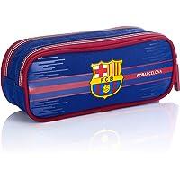 FC Barcelona påse – pennfodral FC-227 Fan 7 pennfodral, 22 cm, marinblå