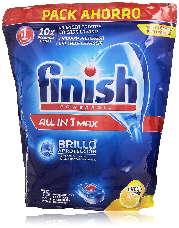 Finish Pastillas para lavavajillas Limon - 75 pastillas ...