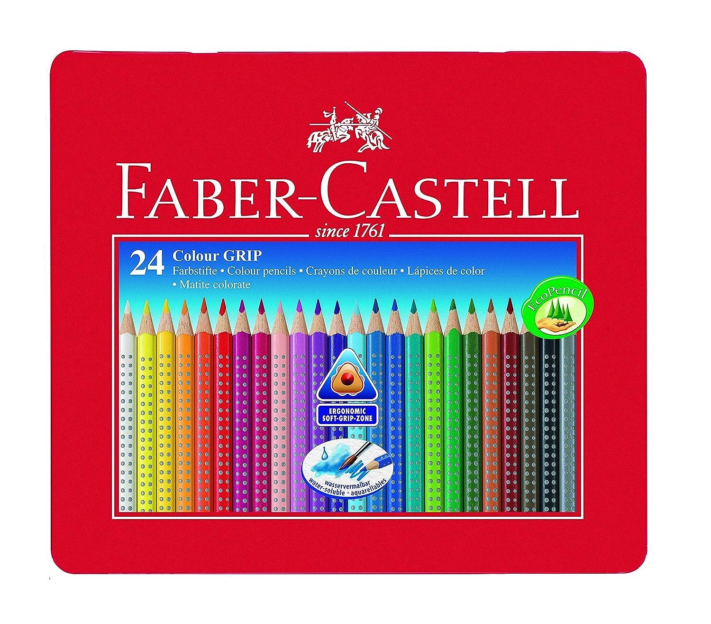 Faber-Castell 48Colour Grip matita con accessori 112448