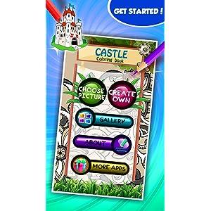Libro de colorear Castillo: Amazon.es: Appstore para Android