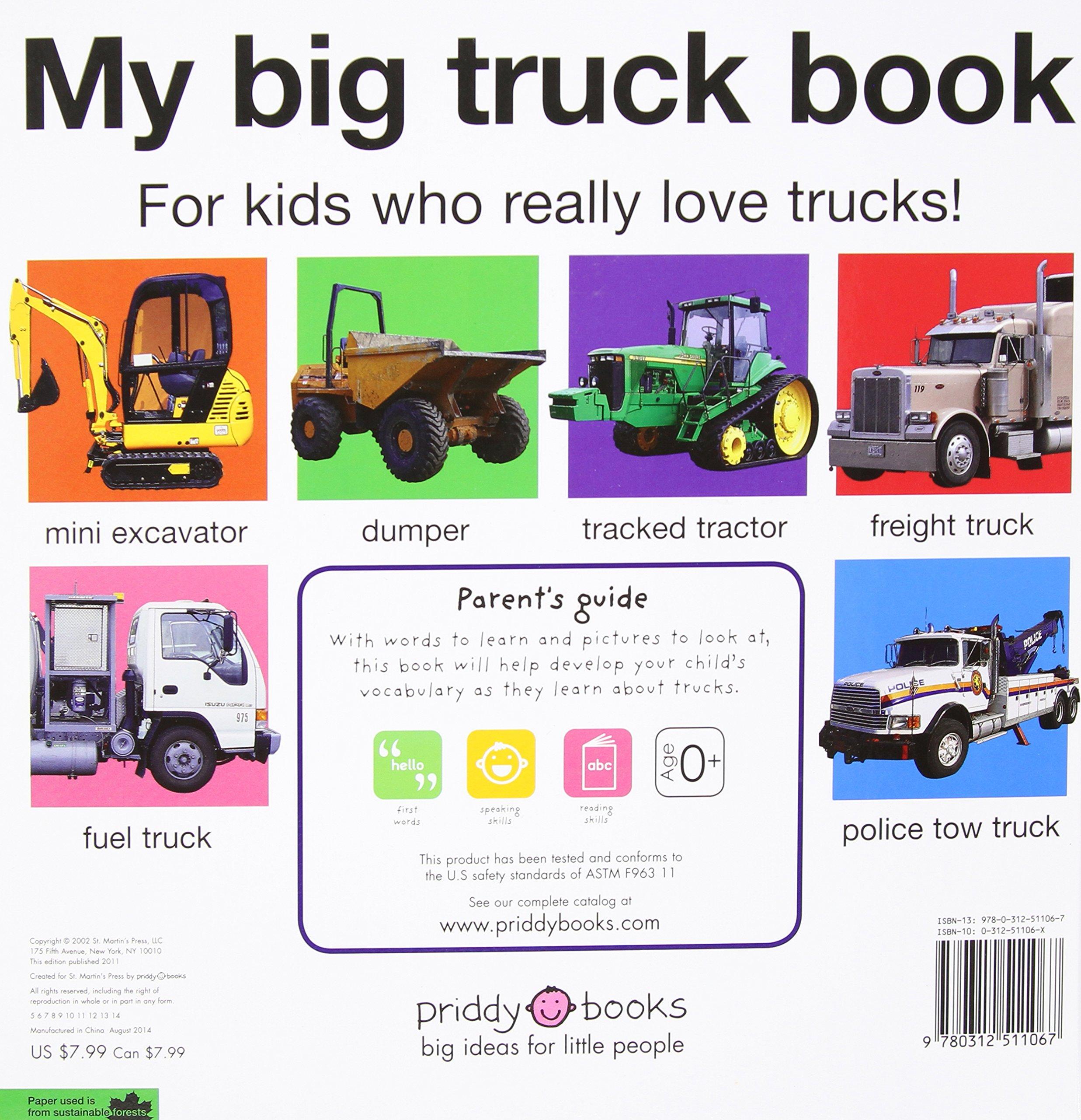 my big truck book my big board books roger priddy