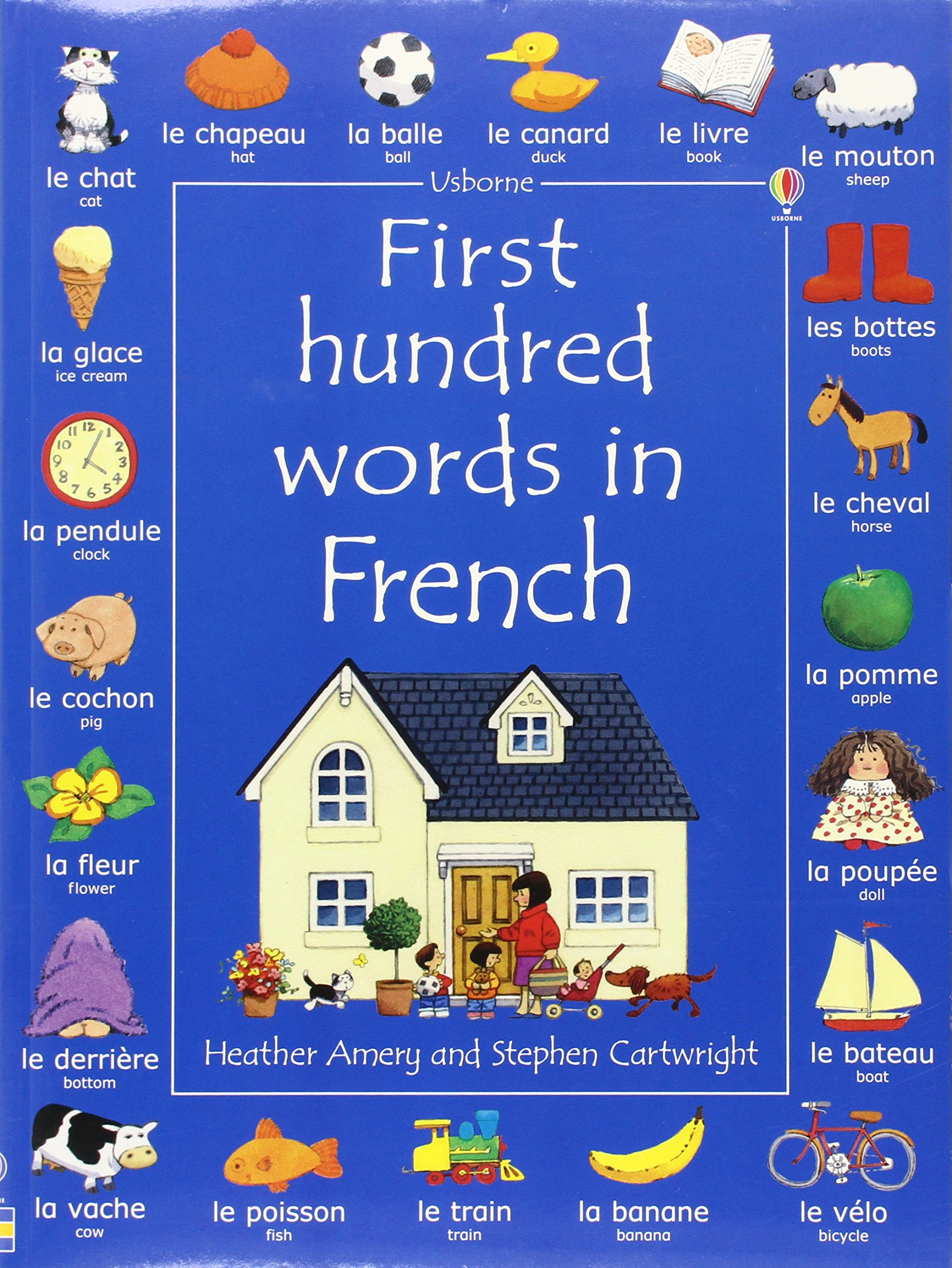 Image result for my first 100 words in french usborne