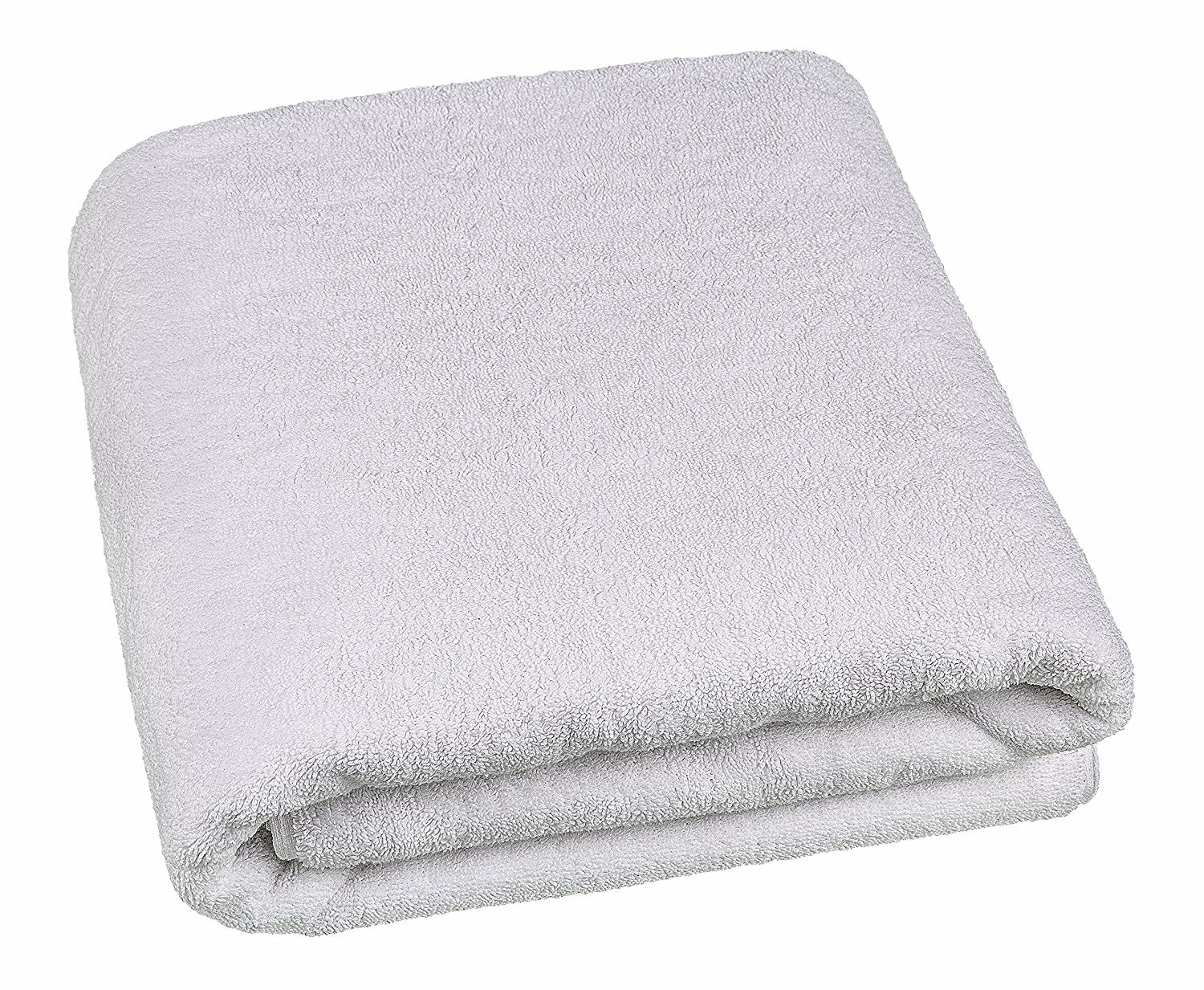40x80 Inches Jumbo Size, Thick and Large 650 GSM Bath Sheet 100-Percent Genuine Cotton, Luxury Hotel & Spa Quality, Absorbent and Soft Decorative Kitchen and Bathroom Turkish Towels, Snow White