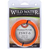 Wild Water Fly Fishing Weight Forward 6 Sinking Tip Fly Line