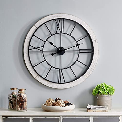 FirsTime Co. Timeworn Cottage Wall Clock