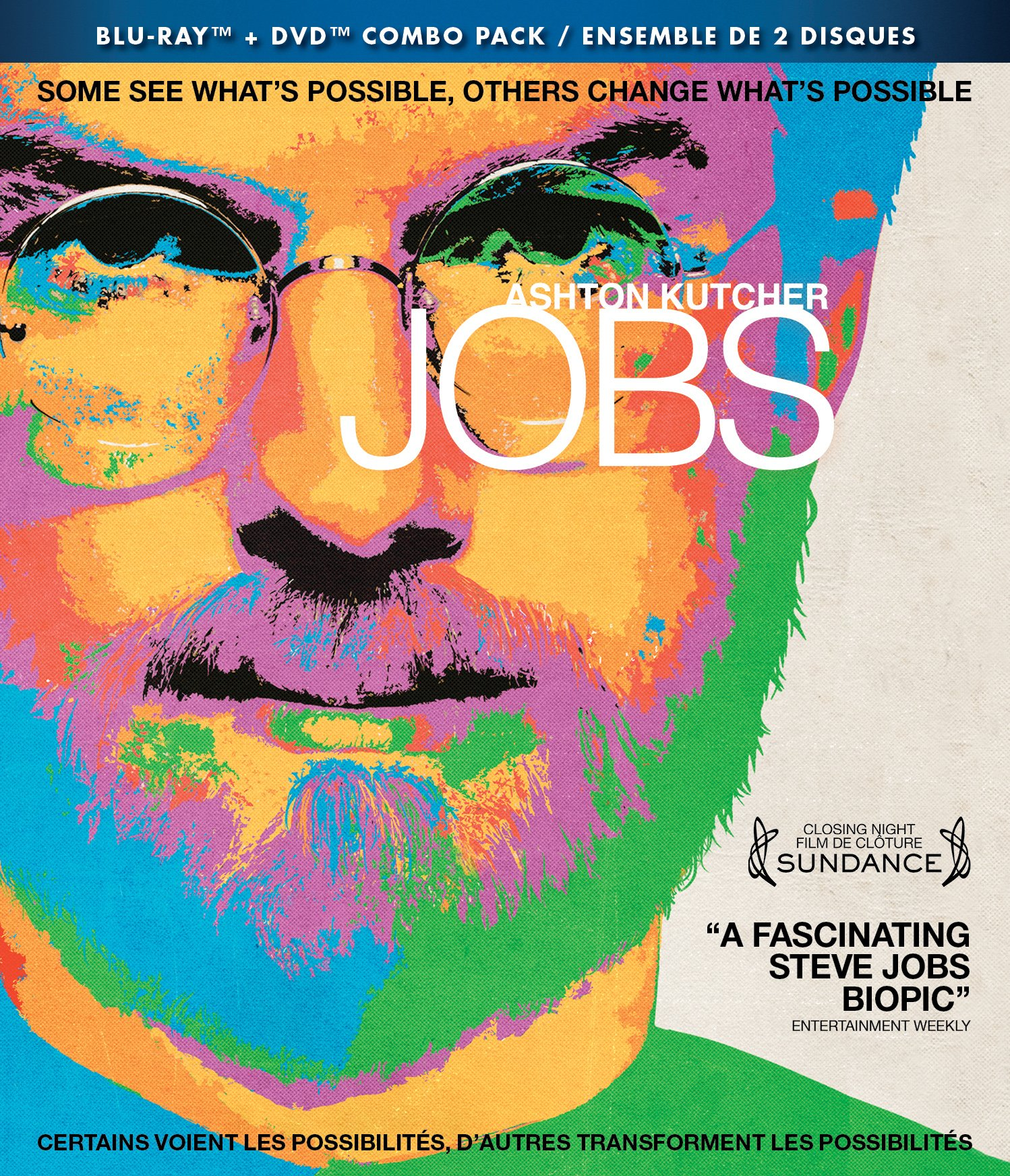 Blu-ray : Jobs (DVD   Blu-ray combo pack)