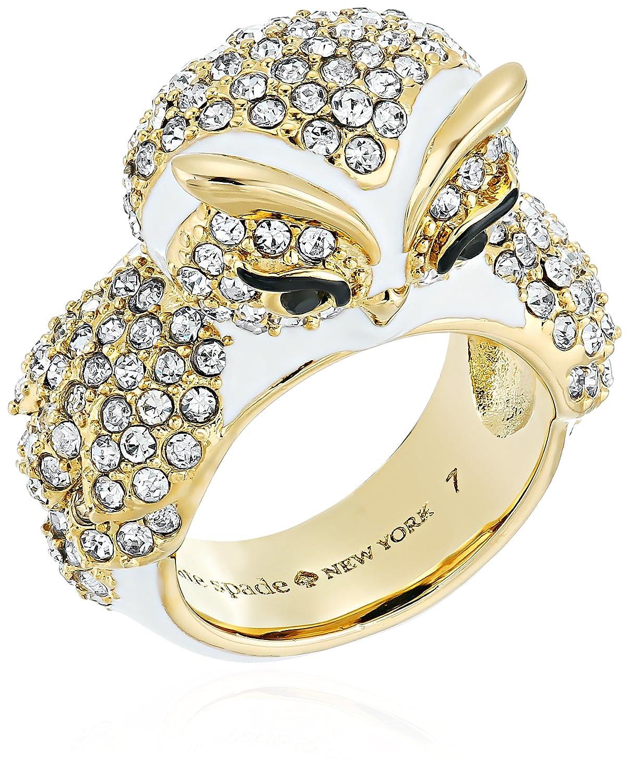 Kate Spade New York Star Bright Owl Ring, Size 7 kate spade jewelry WBRUF189194