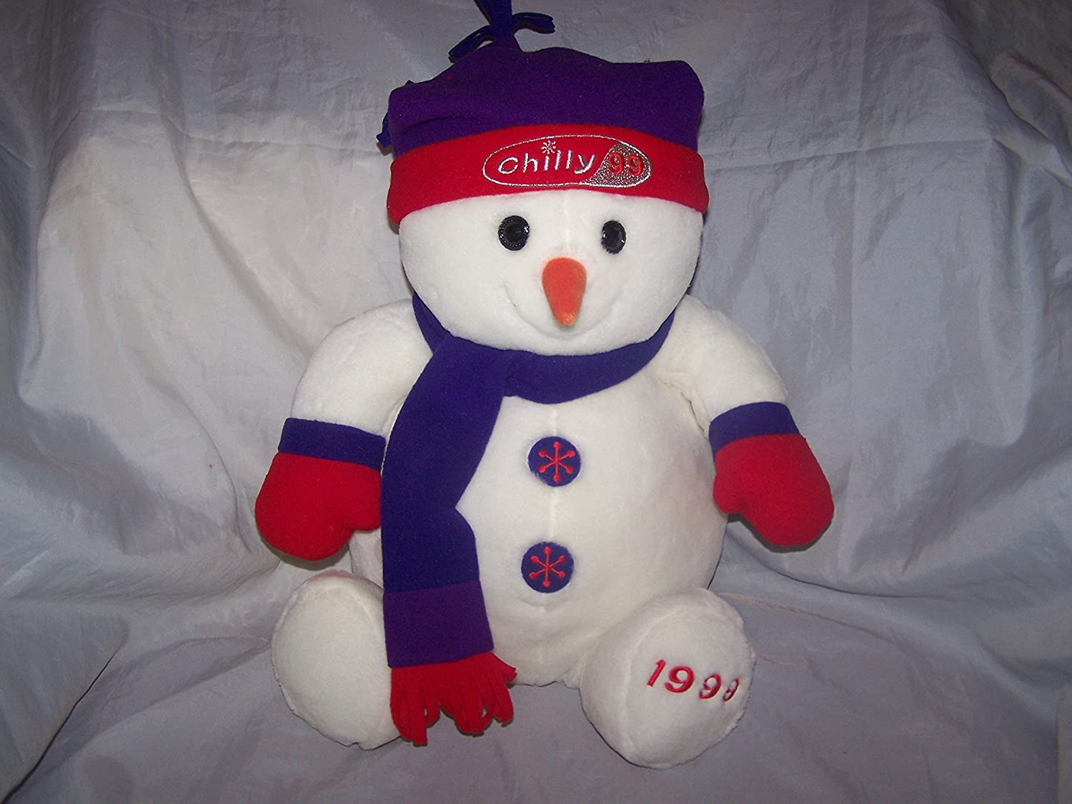 48f14a3ed Chilly the Snowman large soft toy.: Amazon.co.uk: Toys & Games