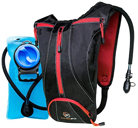 06cd93e209 InnerFit Hydration Backpack & 2L Water Bladder, Durable Camel Backpack  Hydration Pack-Running,