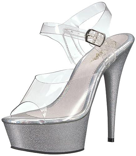 29f17a2ceea Pleaser Women s Delight-608HG Sandal