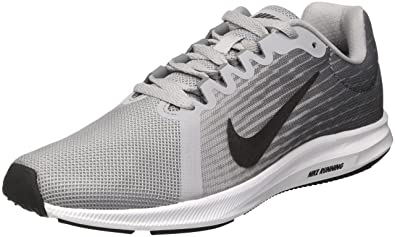 Nike Womens WMNS Downshifter 8 (W) Wolf Grey MTLC Dark Grey Black Size 5