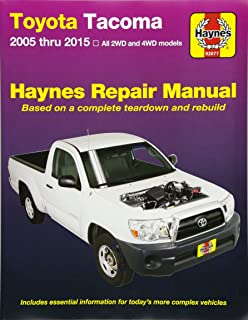 toyota tacoma 4runner t100 automotive repair manual robert rh amazon com 2011 Toyota Tacoma Owners Manual 2005 Toyota Tacoma