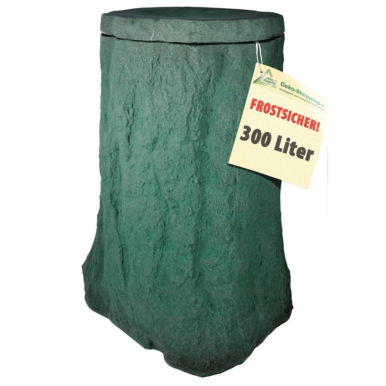Regentonne Baum natur-grün 300l