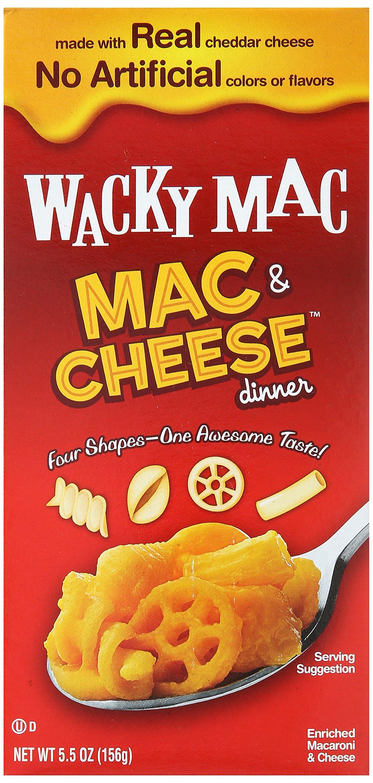 Wacky Mac, Mac & Cheese Dinner, 5.5 oz