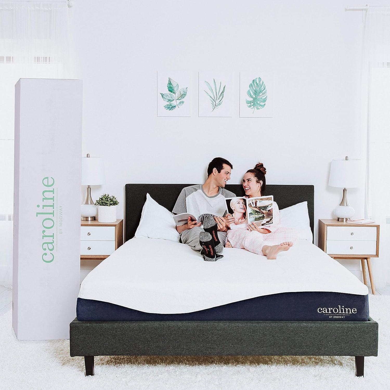 Modway Caroline 10 Cooling Air Gel Memory Foam Full Mattress With CertiPUR-US Certified Foam – 10-Year Warranty