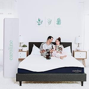 """Modway Caroline 10"""" Cooling Air Gel Memory Foam Full Mattress With CertiPUR-US Certified Foam - 10-Year Warranty"""