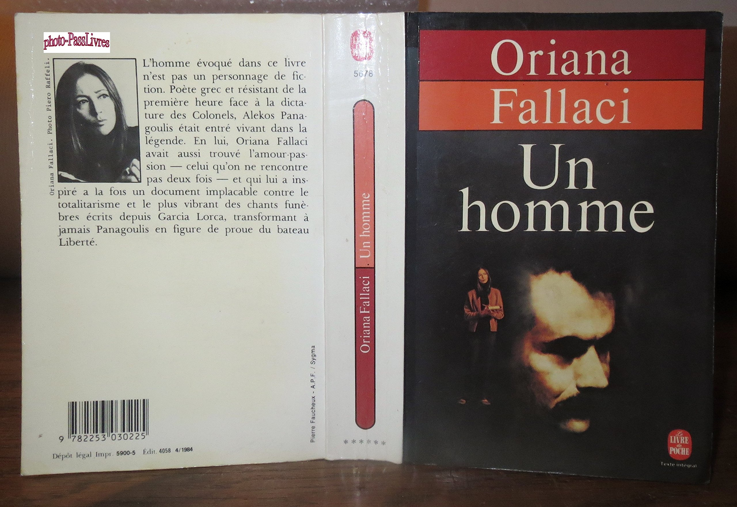 Amazon.it: Un homme - Oriana Fallaci - Libri in altre lingue