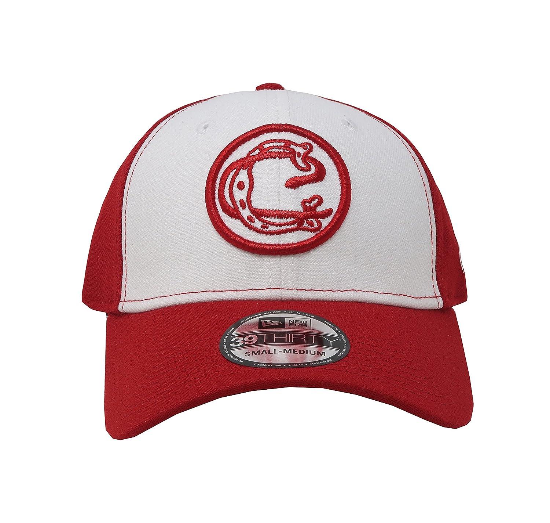 Amazon.com  New Era 39Thirty Hat Chivas De Guadalajara Oficial Liga MX  Soccer Flex Red White Cap  Clothing 4e9688f87f3