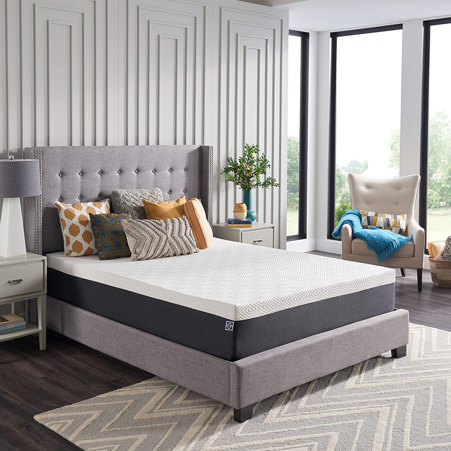 """Best Bed in a box: Sealy Hybrid Bed in a Box CopperChill [12"""" Medium]"""