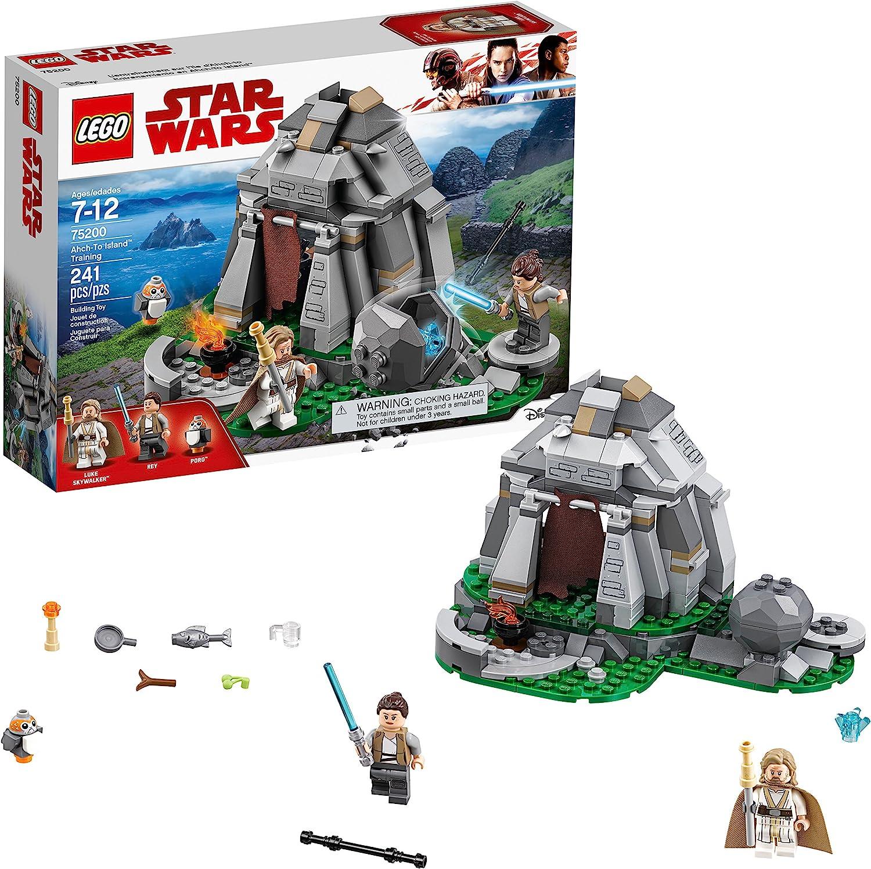 LEGO Star Wars: The Last Jedi Ahch-To Island Training 75200 Building Kit (241 Pieces)