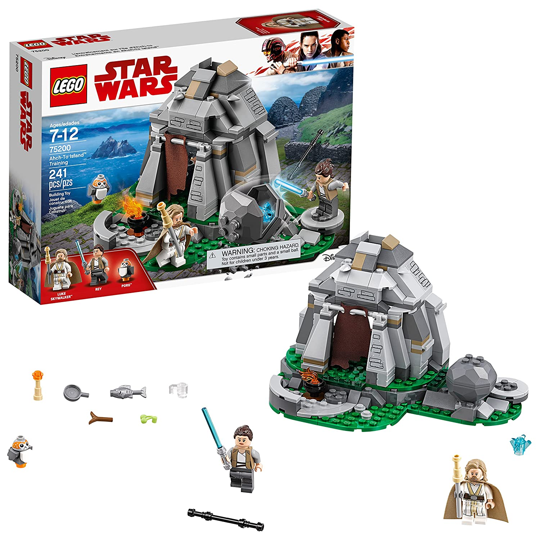 LEGO Star Wars: The Last Jedi Ahch-To Island Training 75200 Building Kit (241 Piece)