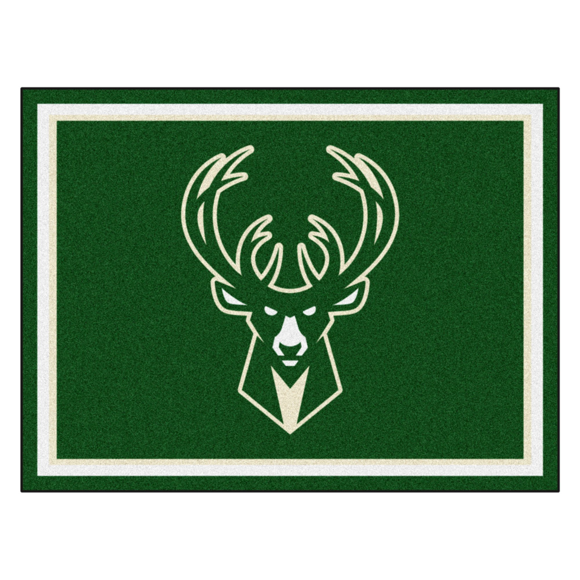 FANMATS 17458 NBA Milwaukee Bucks Rug