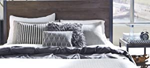 Barnside Brown Metro King Headboard & Night stand by Home Styles