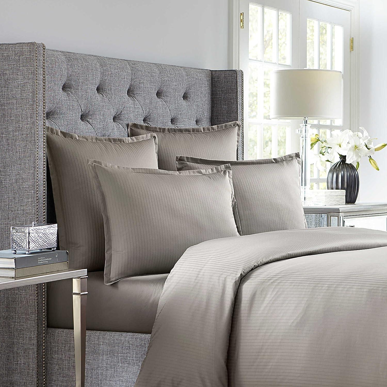Wamsutta Euro 620 Thread Count Solid Charcoal Pillow Sham