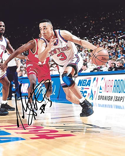 aa8d91c5 John Starks, New York Knicks, Signed, Autographed, 8x10 Photo, A COA With  The Proof Photo of John Signing Will Be Included. at Amazon's Sports  Collectibles ...