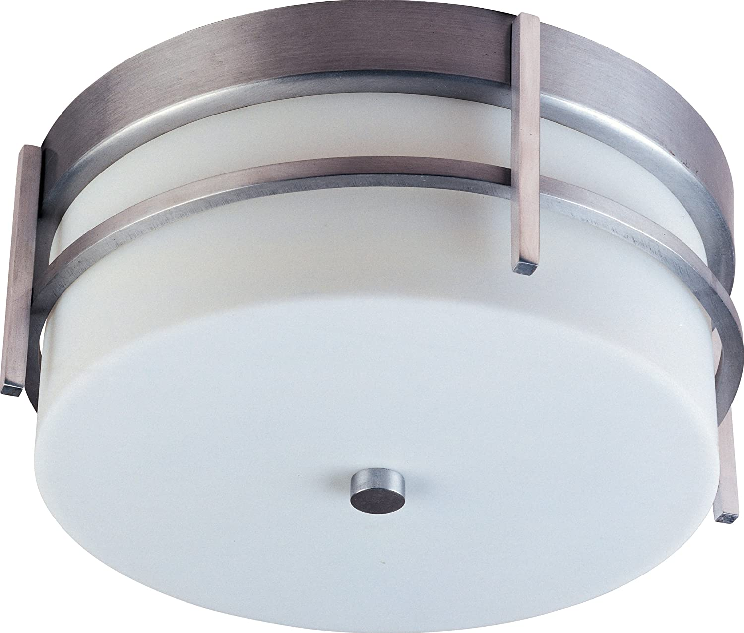 Maxim 85217WTBM Luna 2-Light Outdoor Mount Ceiling OFFicial store Brushed Meta Special price
