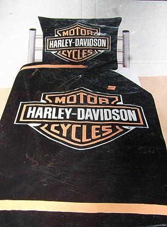 Harley Davidson Bettwäsche 100 Baumwolle 1 Set Amazonde Küche