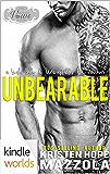 Passion, Vows & Babies: Unbearable: An Unacceptables MC Standalone Romance (Kindle Worlds Novella)