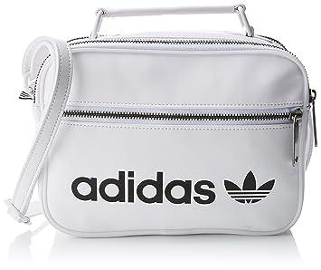 56a7f03025 adidas originals Mini Airl Vintage Sac à Main Mixte Adulte, Blanc/Blanco, NS