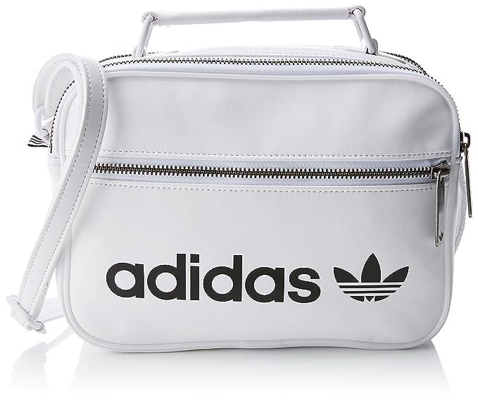 a3884f5374 adidas originals Mini Airl Vintage Sac à Main Mixte Adulte, Blanc/Blanco,  NS: Amazon.fr: Sports et Loisirs