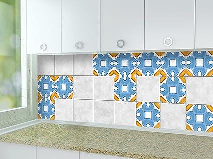 Adesivi per piastrelle cucina modello moderno dimensioni della