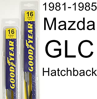 "product image for Mazda GLC Hatchback (1981-1985) Wiper Blade Kit - Set Includes 16"" (Driver Side), 16"" (Passenger Side) (2 Blades Total)"