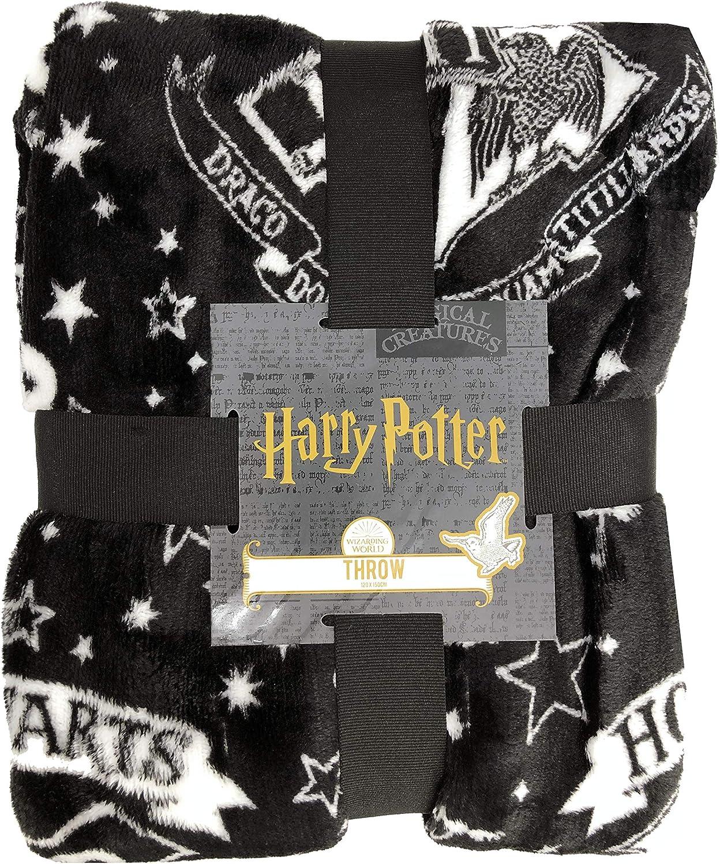 Manta de Forro Polar con Licencia de Harry Potter Hogwarts